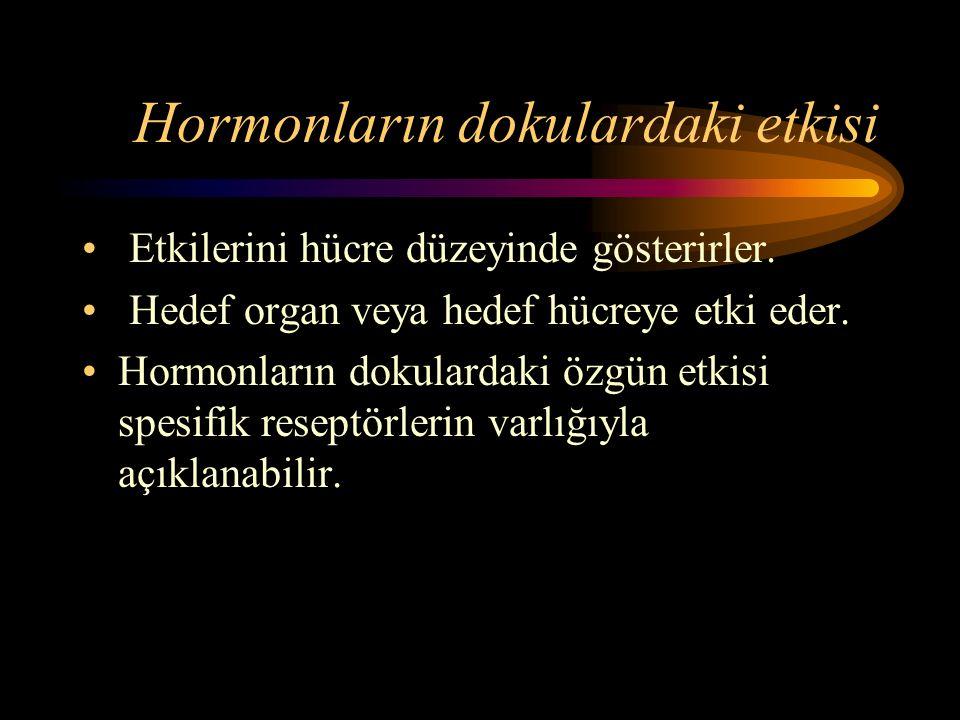 Hormonların etki mekanizmaları 1.