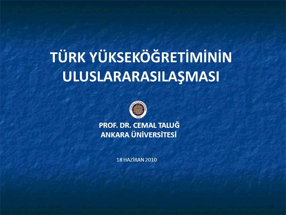 ANKARA ÜNİVERSİTESİNDEN ÖRNEKLER Prof.Dr.