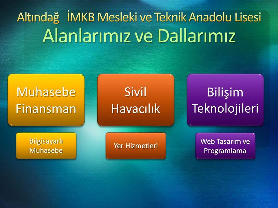 Altındağ İMKB Mesleki ve Teknik Anadolu Lisesi Tanıtım Yönlendirme Ekibi http://altindagtml.meb.k12.tr Tel : 312 376 02 50