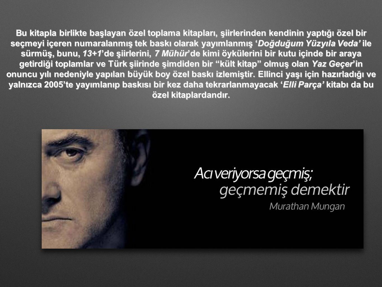 Mungan, bugüne değin çoğu Yeni Türkü topluluğu tarafından seslendirilmiş olan şarkı sözleri yazmıştır.