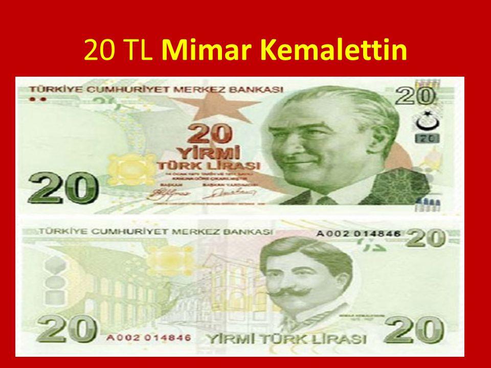 20 TL Mimar Kemalettin