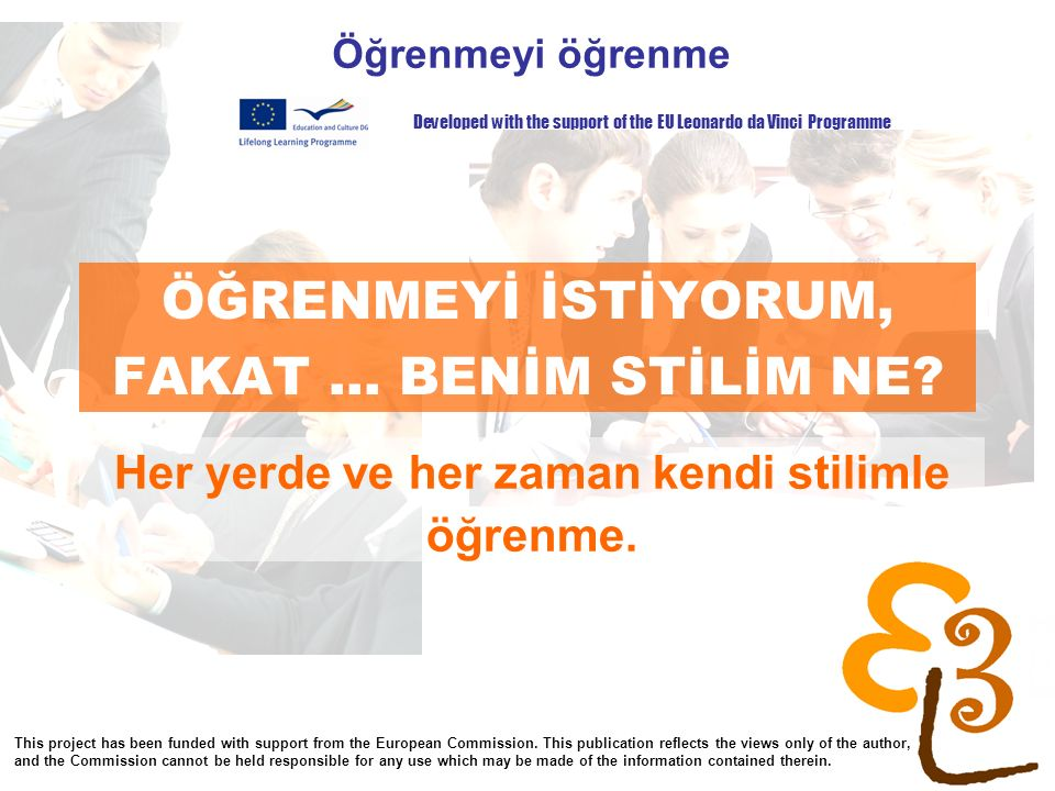 learning to learn network for low skilled senior learners ÖĞRENMEYİ İSTİYORUM, FAKAT...