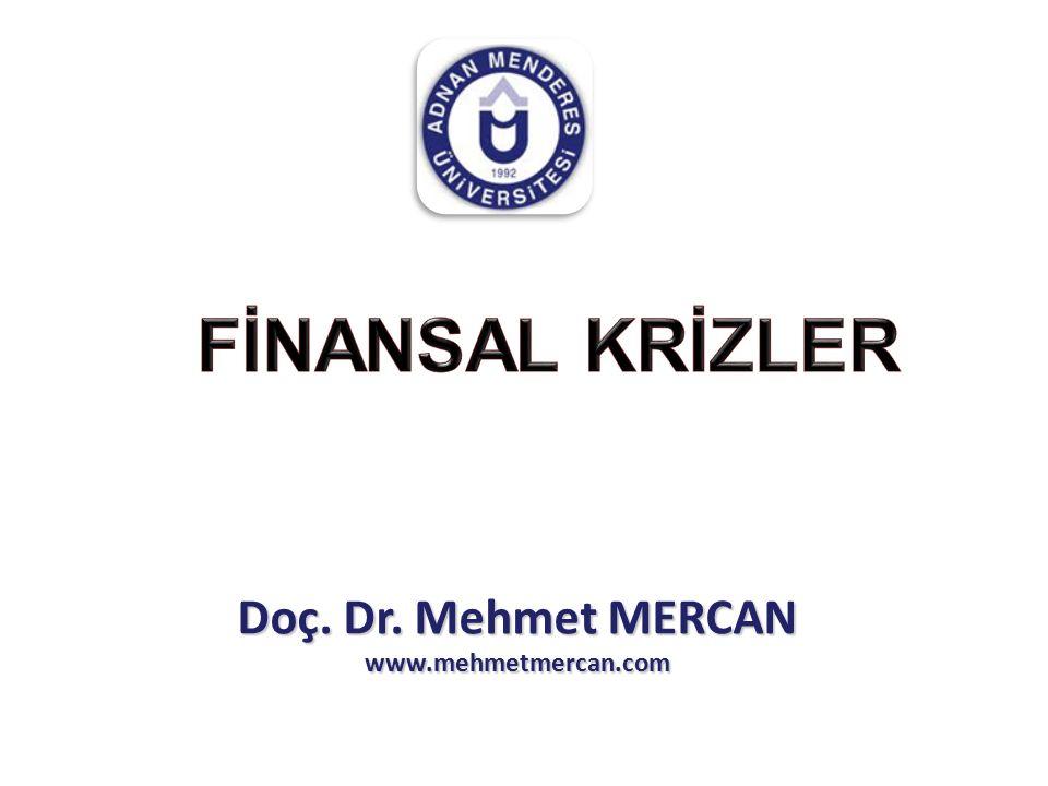 Doç. Dr. Mehmet MERCAN www.mehmetmercan.com