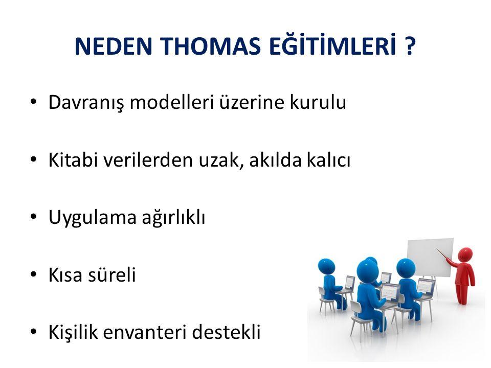 NEDEN THOMAS EĞİTİMLERİ .