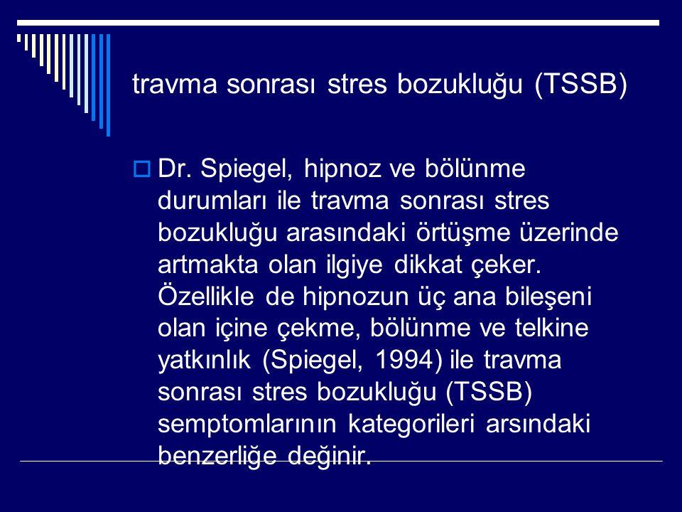 travma sonrası stres bozukluğu (TSSB)  Dr.