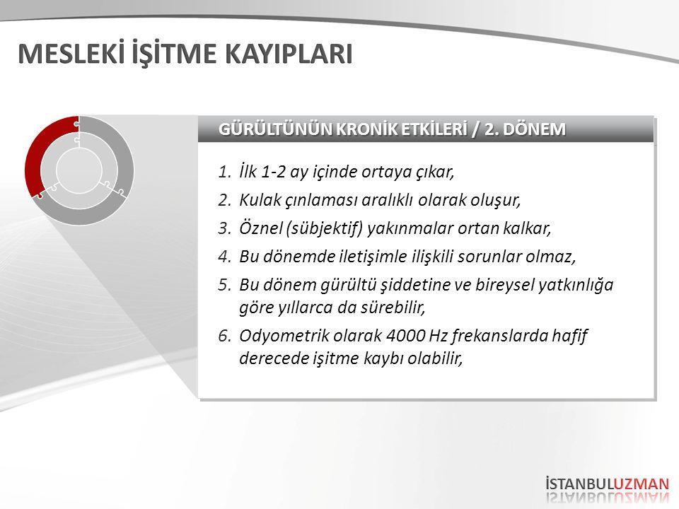 GÜRÜLTÜNÜN KRONİK ETKİLERİ / 1.