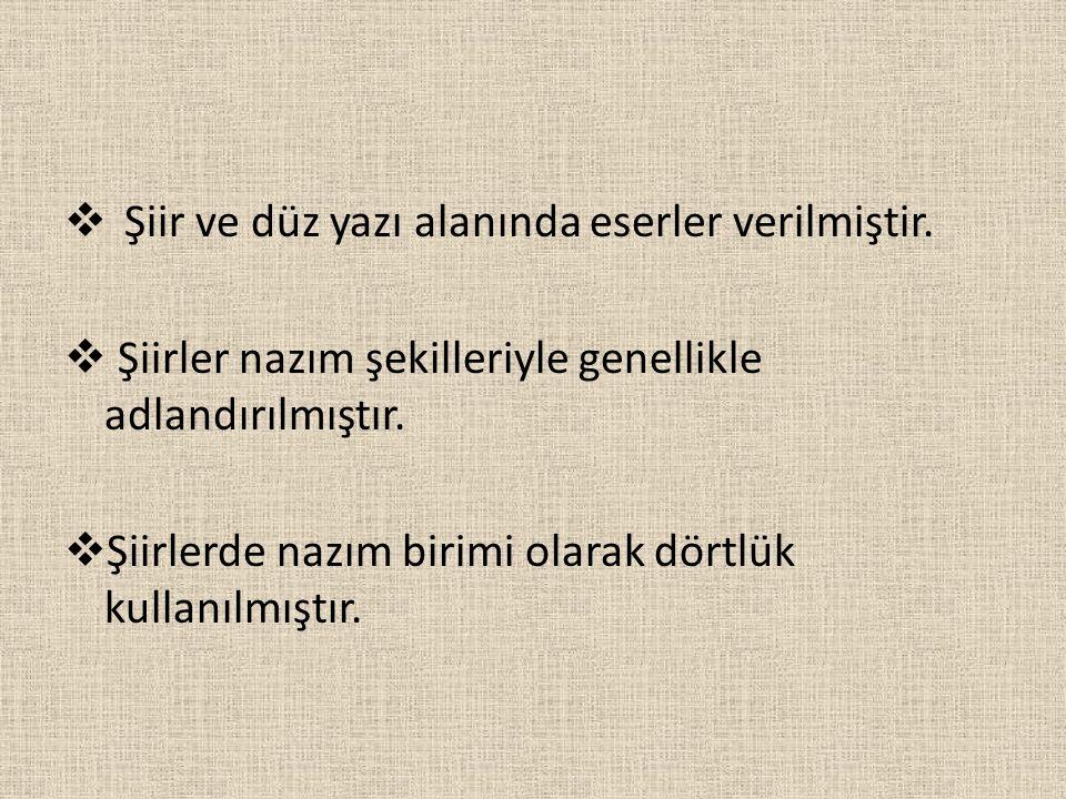 KAYIKÇI KUL MUSTAFA → 17 yy şairidir.→Sultan 4. Murat'ın Bağdat seferine katılmıştır.