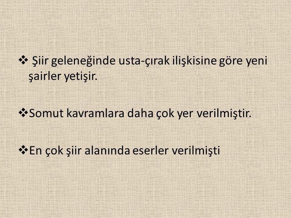 SEYRANİ  19.yy şairidir.→Kayseri'de doğmuştur.
