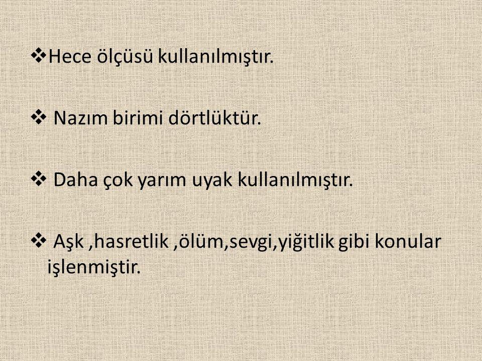 AŞIK VEYSEL → Sivas'ın Şarkışla ilçesi Sivrialan köyünde doğmuştur.