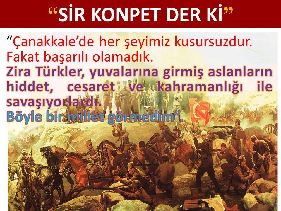 Yer: Çanakkale/ Anafartalar Anlatan: Anafartalar Komutanı Gazi Mustafa Kemal ATATÜRK Karşılıklı siperler arası 8 metre, yani ölüm muhakkak.