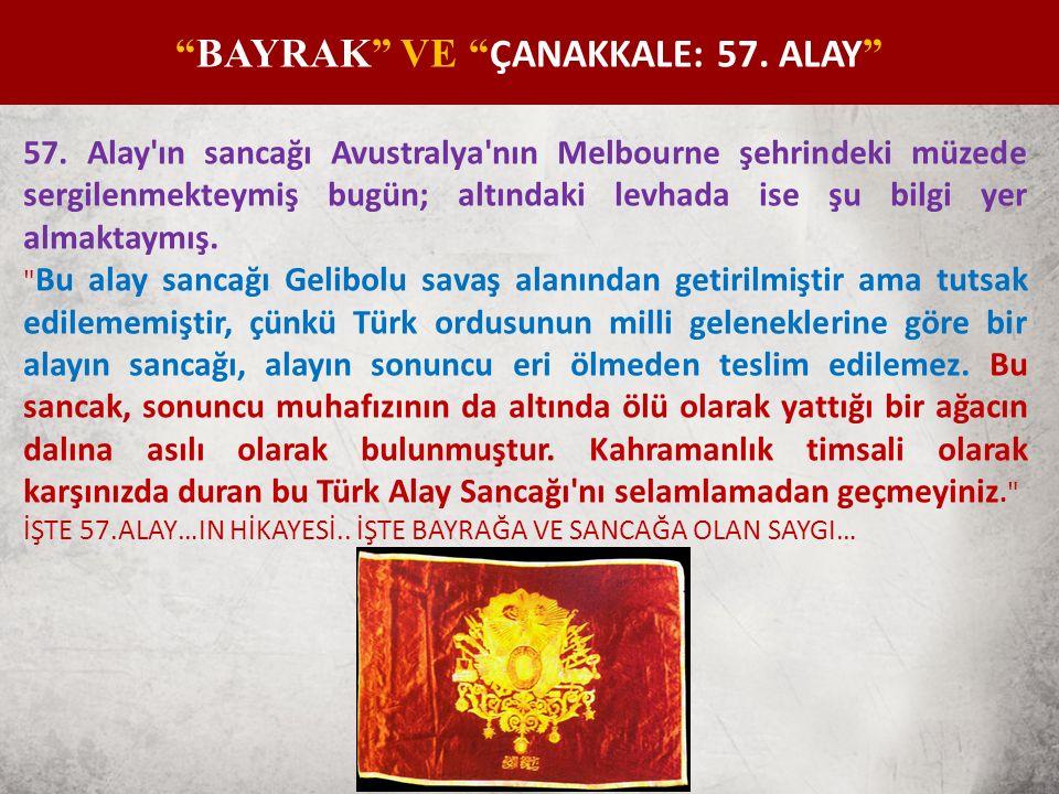 ÇANAKKALE: 57.ALAY Türk Silahlı Kuvvetleri bünyesinde 57.