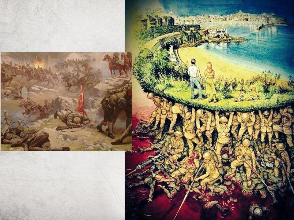 Çanakkale; Müslüman savaşçıların tarihe ahlak dersi verdiği yerdir.