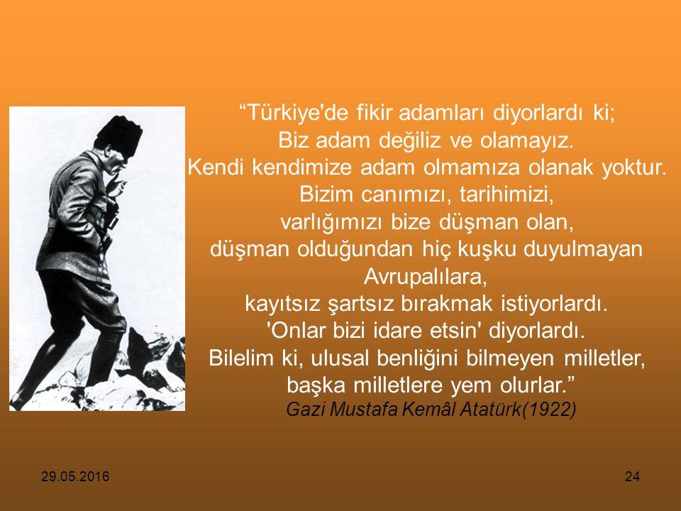 29.05.201623 Bu yıkım, Mustafa Kemal Atatürk'ün çıkışına kadar sürdü.