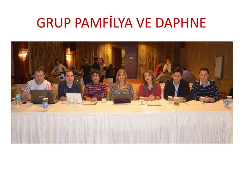 GRUP PAMFİLYA VE DAPHNE