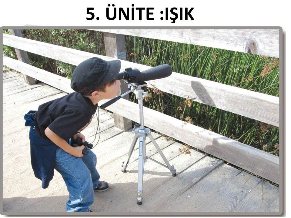 5. ÜNİTE :IŞIK