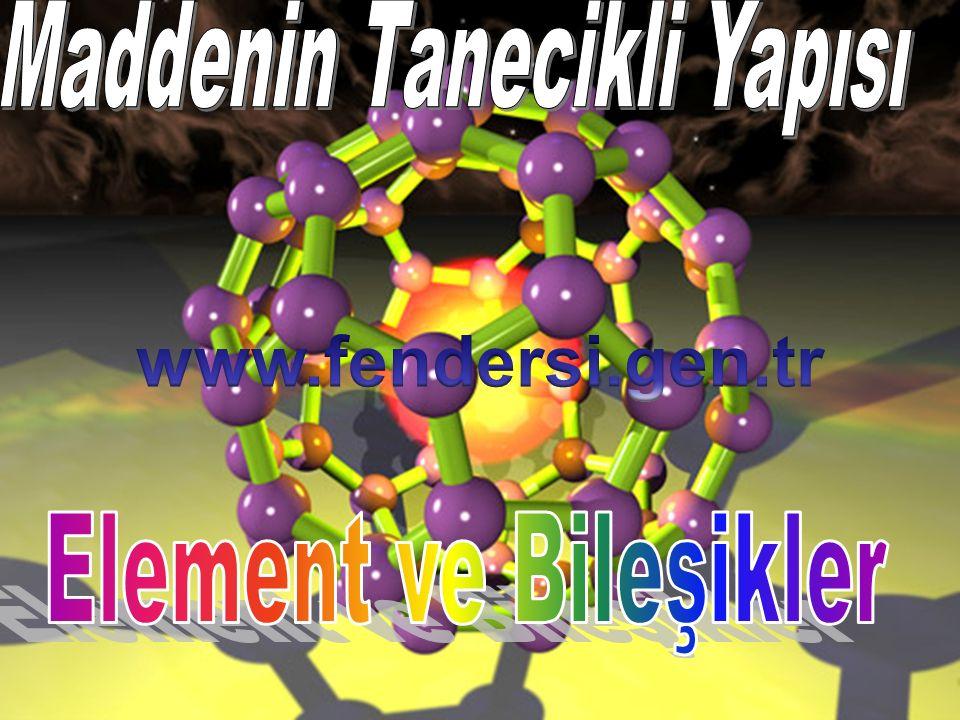 Maddelerin özelliklerine göre bazı maddeler atomik, bazı maddeler ise moleküler yapıdadır.