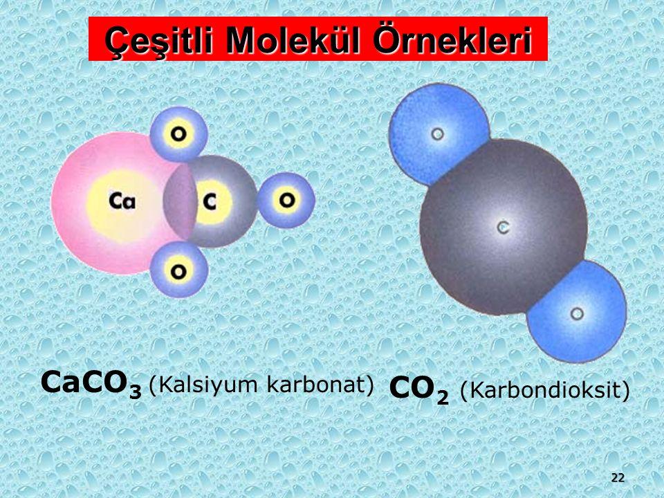 21 İki ya da daha fazla çeşitte element atomlarının oluşturduğu saf maddelere bileşik denir.