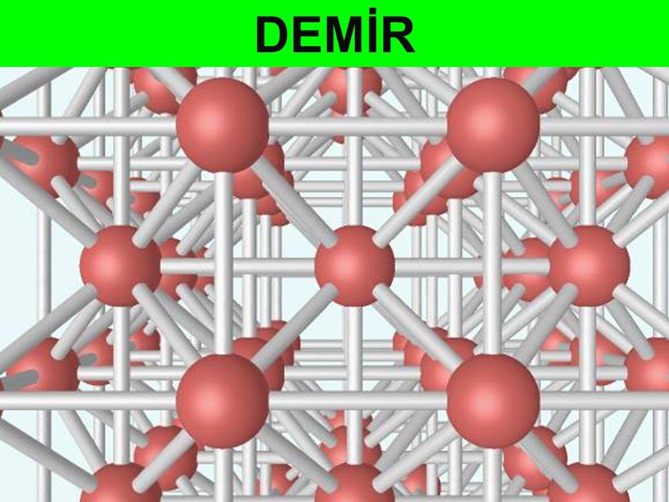 Atom kümelerine molekül adı vermiştik.