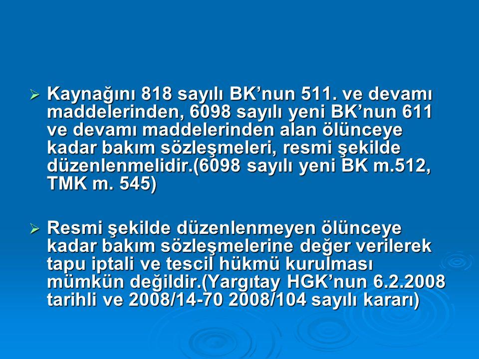  Kaynağını 818 sayılı BK'nun 511.