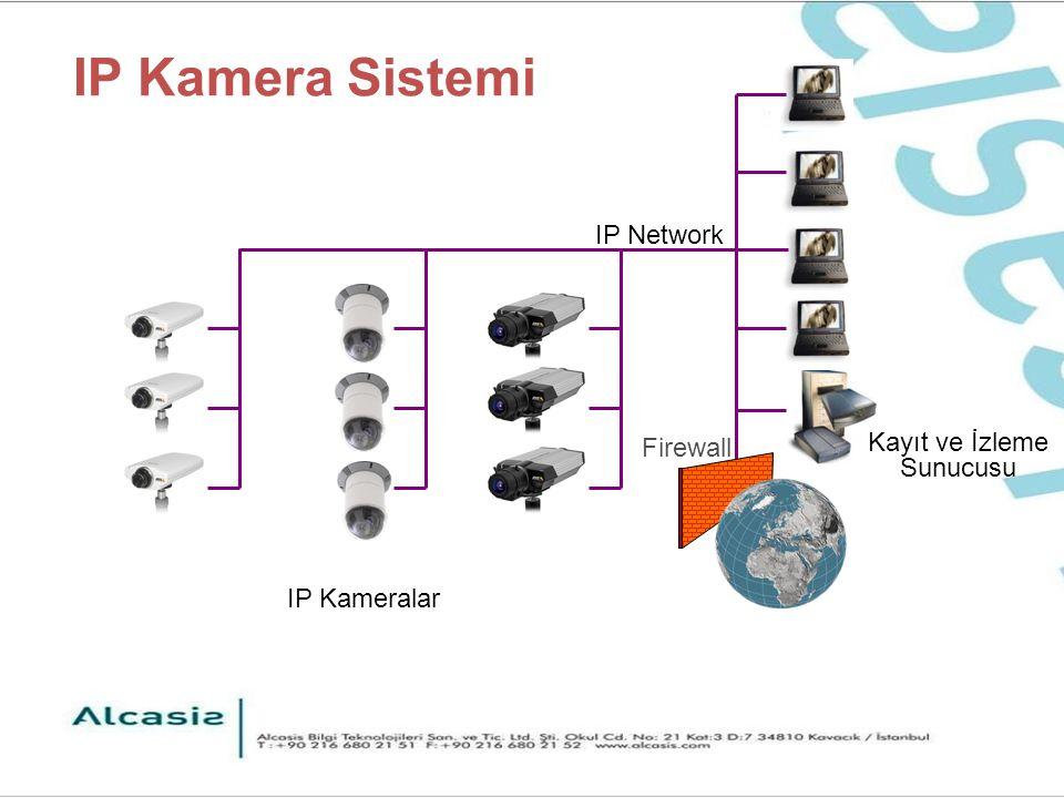 7 - Güvenli iletişim Video kodlama (encryption) Kodlanmış sertifikaları kullanarak doğrulama (authentication) Yetkilendirme (Authorization): Cihazın kımliğini kontrol ve doğrulama Gizlilik Kodlanmıs (Encrypted) filigranlar (watermarks) Kodlama (Encryption) yok Doğrulama (Authentication) yok Video sinyaline kolayca girme veya başka bir video sinyali ile kolayca değiştirebilme FAYDALARI Güvenli resim çekme Güvenli iletişim Kanıtları belgeleme
