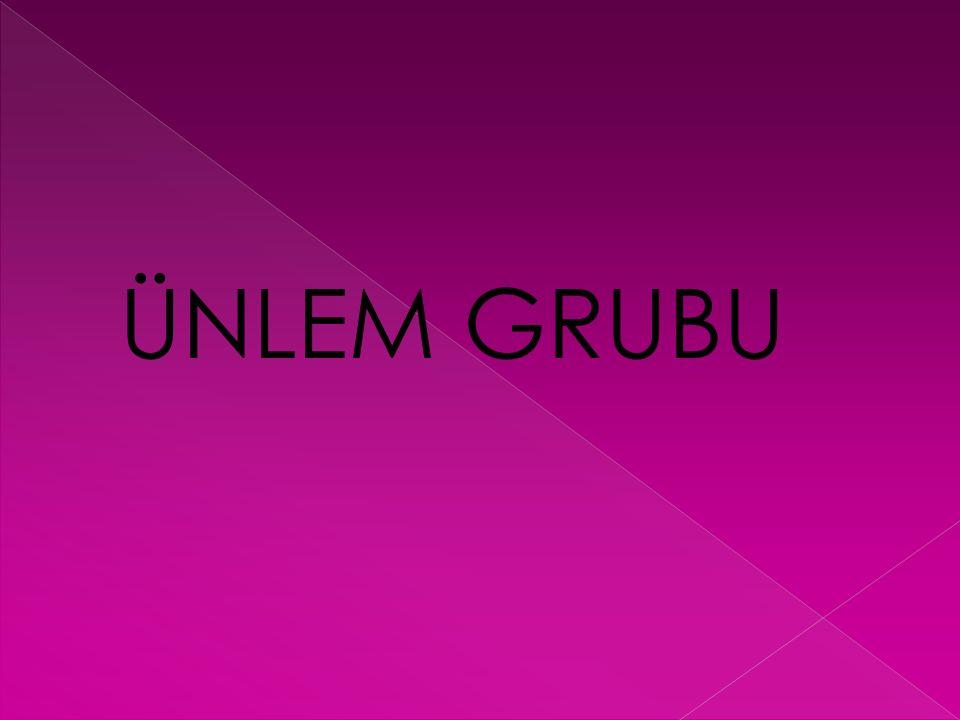 ÜNLEM GRUBU