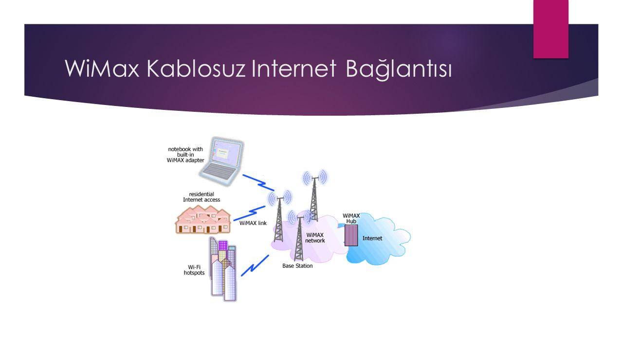 WiMax Kablosuz Internet Bağlantısı