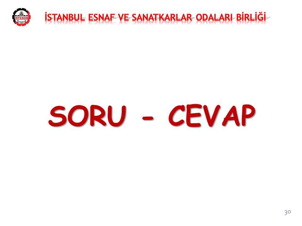 30 SORU - CEVAP