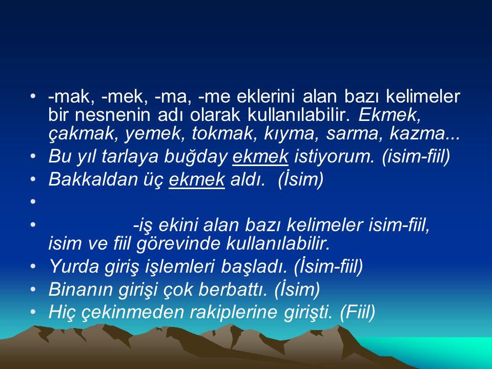 Aşağıdakilerin hangisinde fiilimsi yoktur.A) İzmir'e giderken beni de götür.