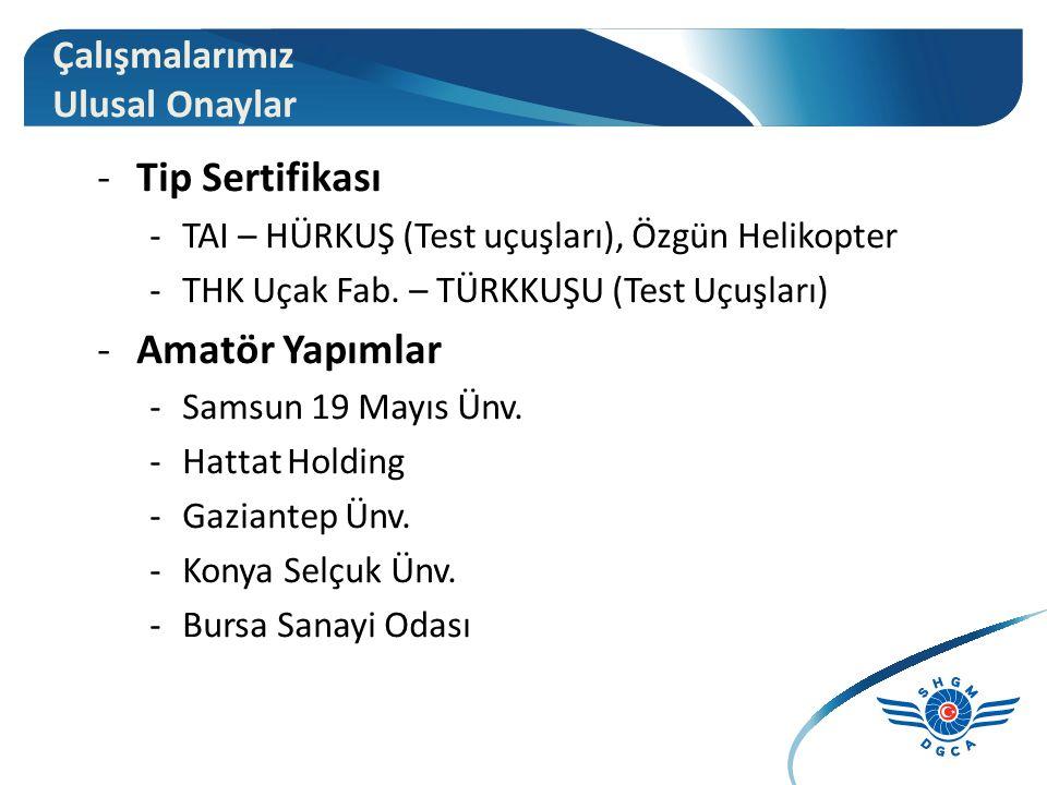 -Tip Sertifikası -TAI – HÜRKUŞ (Test uçuşları), Özgün Helikopter -THK Uçak Fab.