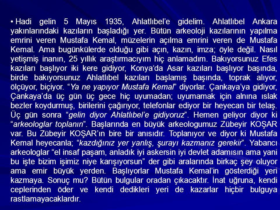 Peki diğer sırrımız ne. Dünya tarihi bir sıfatı sadece Mustafa Kemal'e vermiştir.