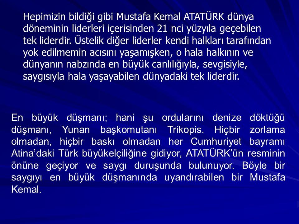 İçimizden Biri ATATÜRK İlknur KALIPÇI Ekim 2005 İzmir Konuşmasından...