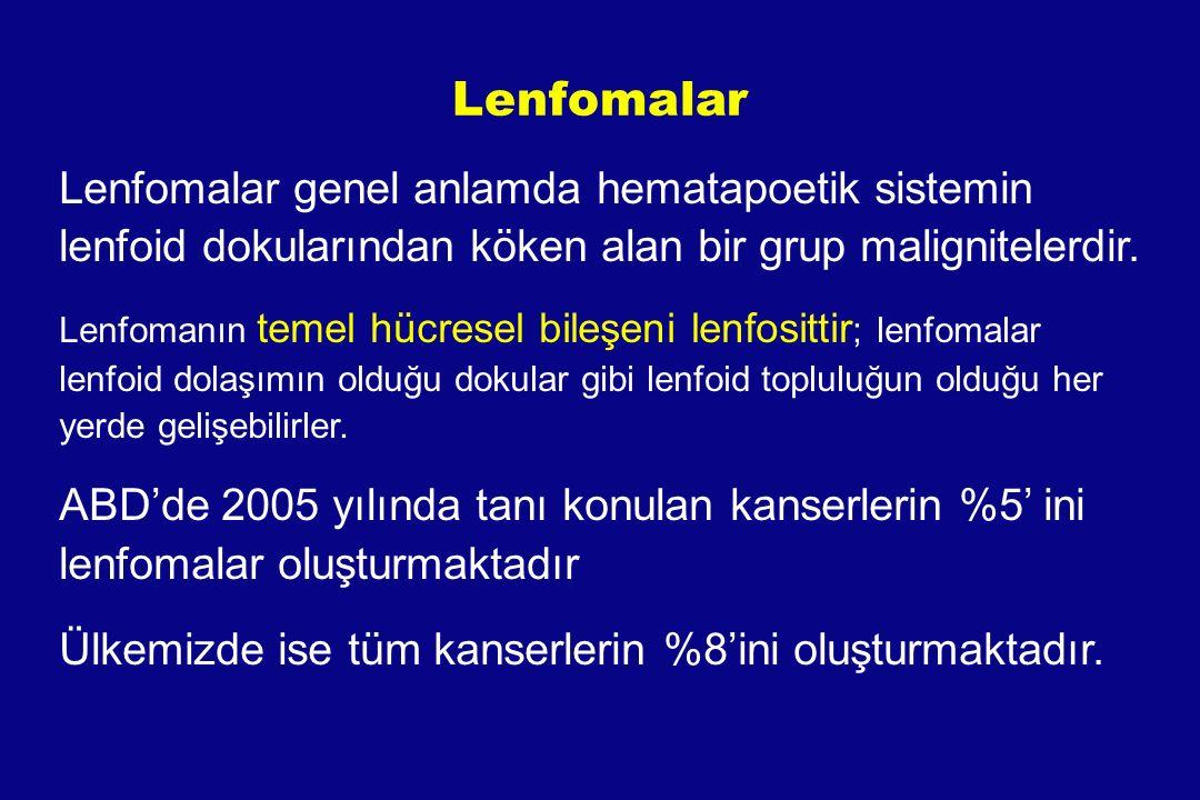Non-Hodgkin Lymphoma (NHL) Hodgkin Dışı Lenfoma