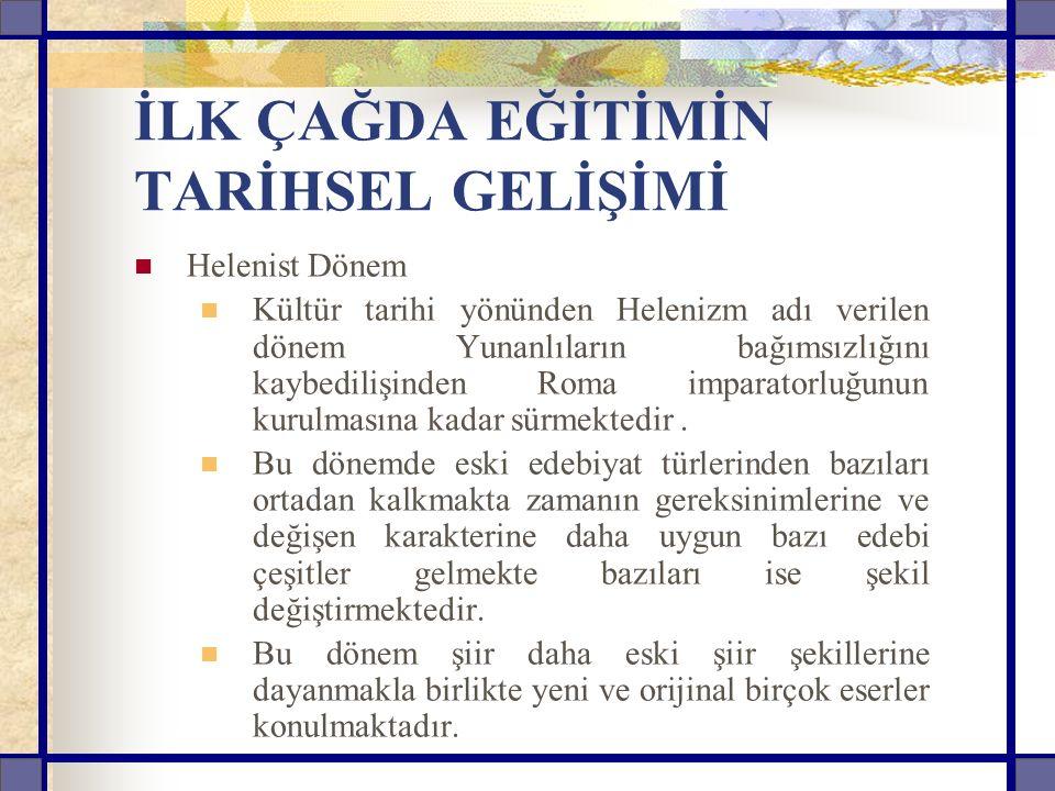 20 YY.TÜRKİYE'DE EĞİTİM İlk kez kapsamlı ortaokul programı 1947'de ele alındığı görülmektedir.