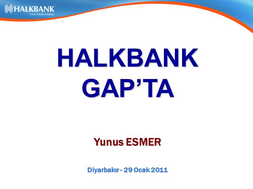 Diyarbakır - 29 Ocak 2011 HALKBANKGAP'TA Yunus ESMER