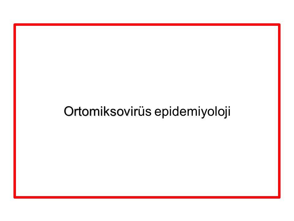 Ortomiksovir Ortomiksovirüs epidemiyoloji