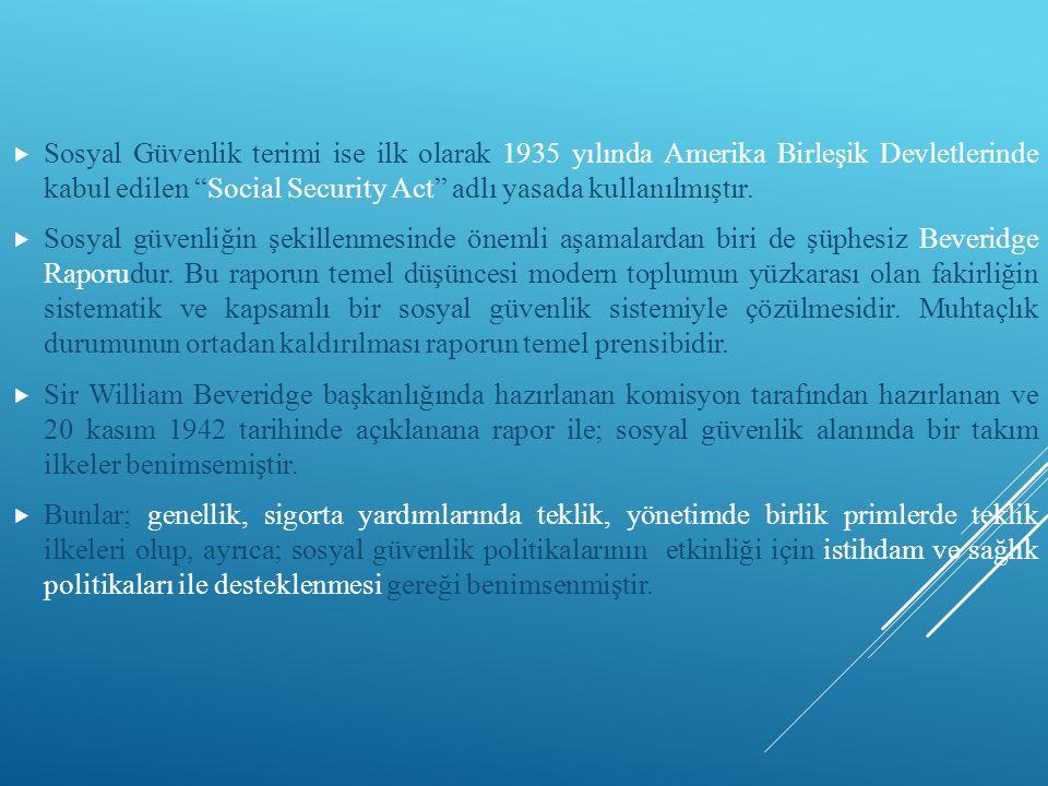 BÖLÜM X / ÖLÜM YARDIMLARI  MADDE 60 1.