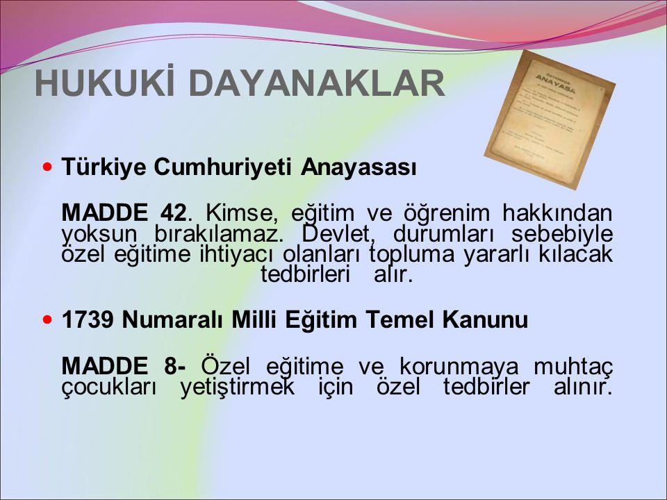 5378 Numaralı Özürlüler ve Bazı Kanun ve Kanun Hükmünde Kararnamelerde Değişiklik Yapılması Hakkında Kanun MADDE 15.