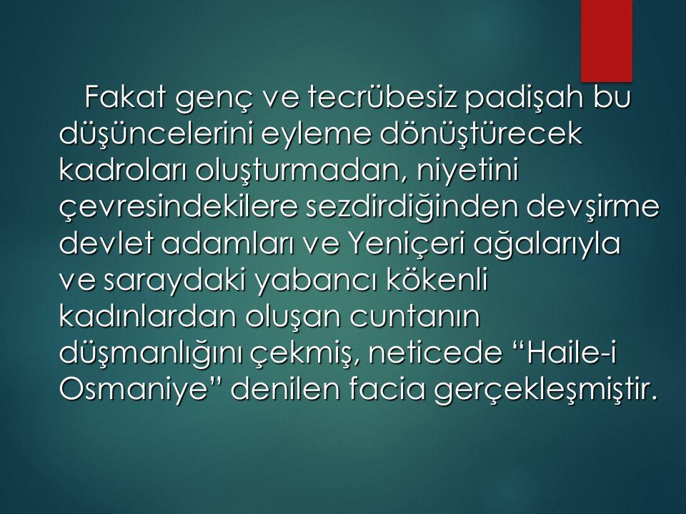 Islahat Fermanı (18 Şubat 1856)  Tanzimat Fermanı, ne geniş haklar ve özgürlükler getirdiği gayrı müslim Osmanlı vatandaşlarını ne de onları destekler görünen emperyalist Avrupa devletlerini tatmin etmemiştir.