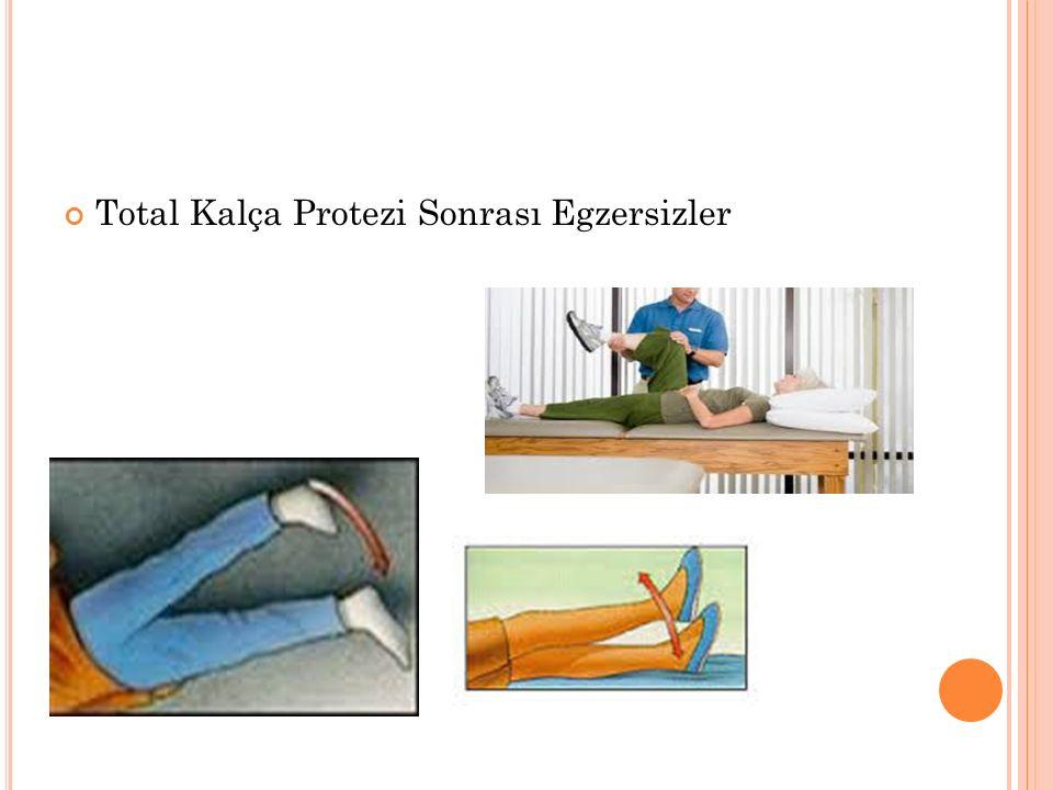 Total Kalça Protezi Sonrası Egzersizler