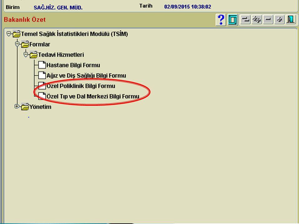  Daha önce ÇKYS veri tabanında TC ile şifre almış iseniz aynı şifre TSİM modülü içinde geçerlidir.