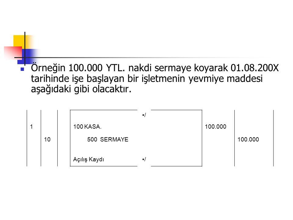 Örneğin 100.000 YTL.
