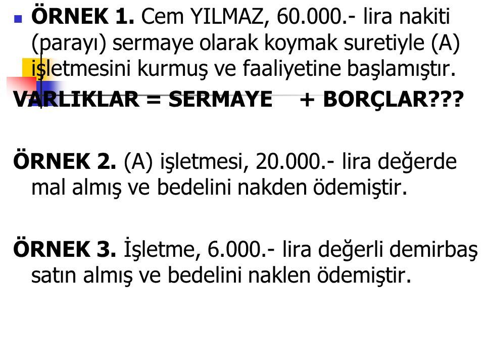 ÖRNEK 1.