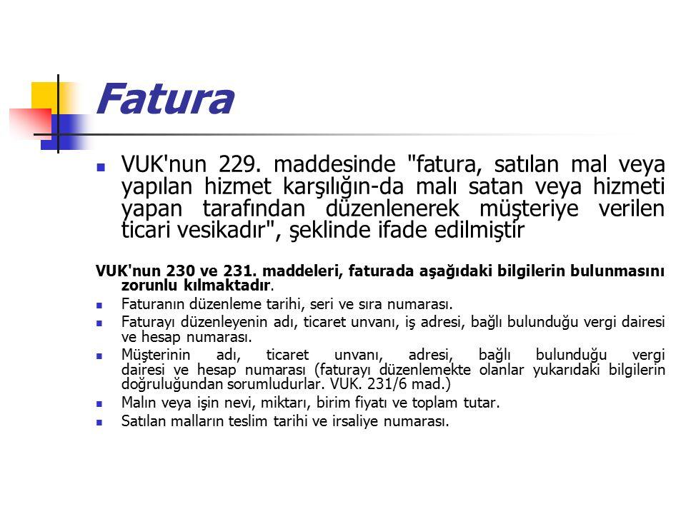 Fatura VUK nun 229.