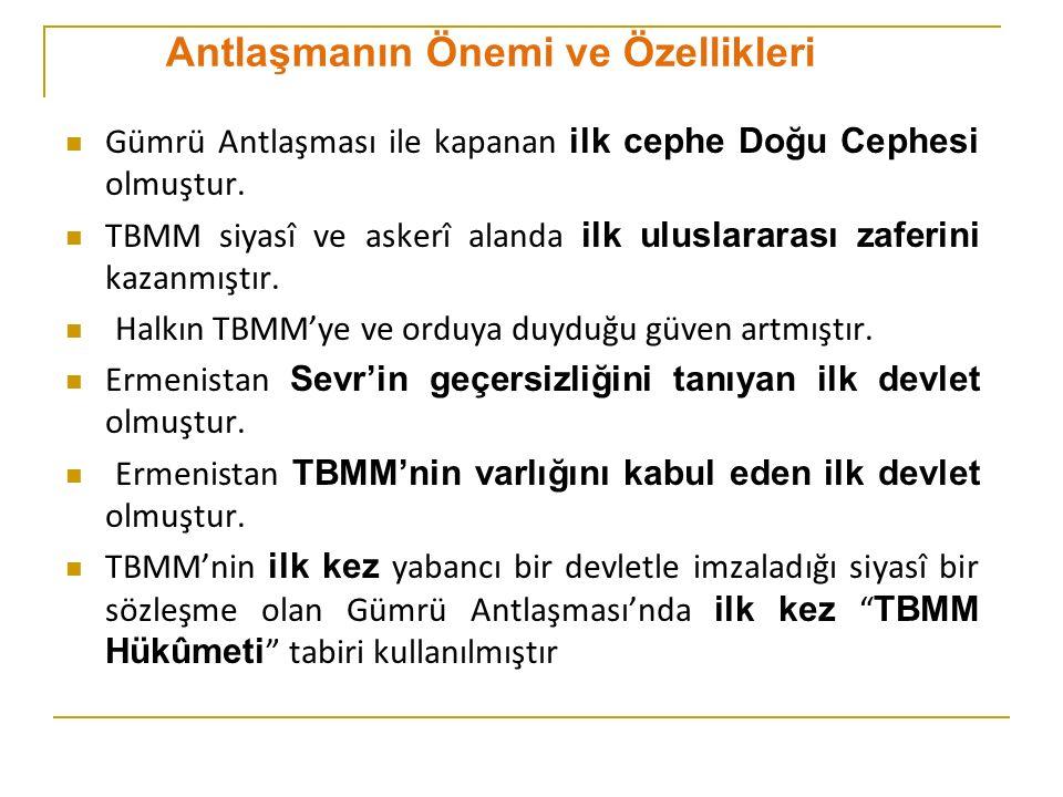 Siyasî bir sözleşmede ilk kez Türkiye Devleti tabiri kullanılmıştır.
