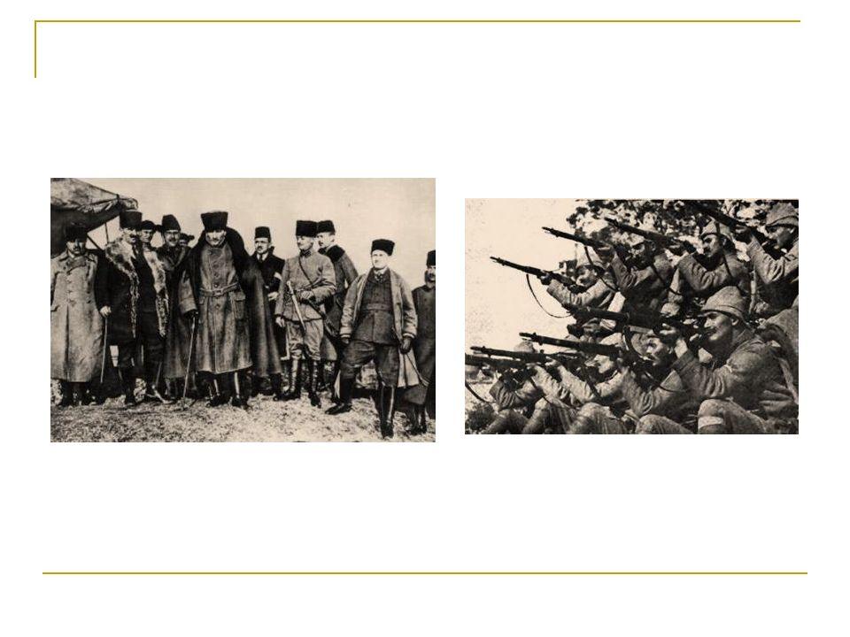 I.İnönü Muharebesi'nin Sonuçları Moskova Antlaşması imzalanmıştır.