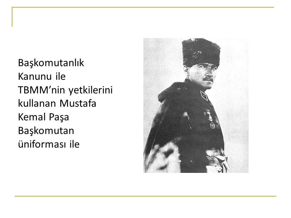 ☸ Mustafa Kemal, Başkomutanlık yetkisine dayanarak, Sakarya Meydan Muharebesi öncesinde orduyu güçlendirmek amacıyla Tekâlif-i Milliye Emirleri'ni yayımlamıştır.