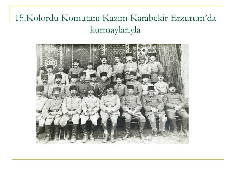 Sevr Antlaşması'na dayanarak Doğu Anadolu'da bağımsız bir devlet kurma hedefi olan Ermeniler Kars ve çevresini işgal etmiştir.