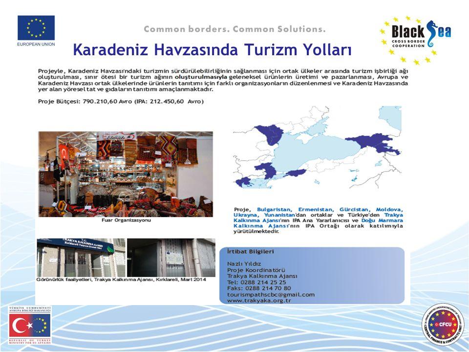 Karadeniz Havzasında Turizm Yolları