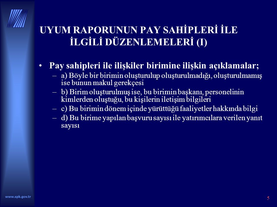 www.spk.gov.tr 26 TEŞEKKÜRLER