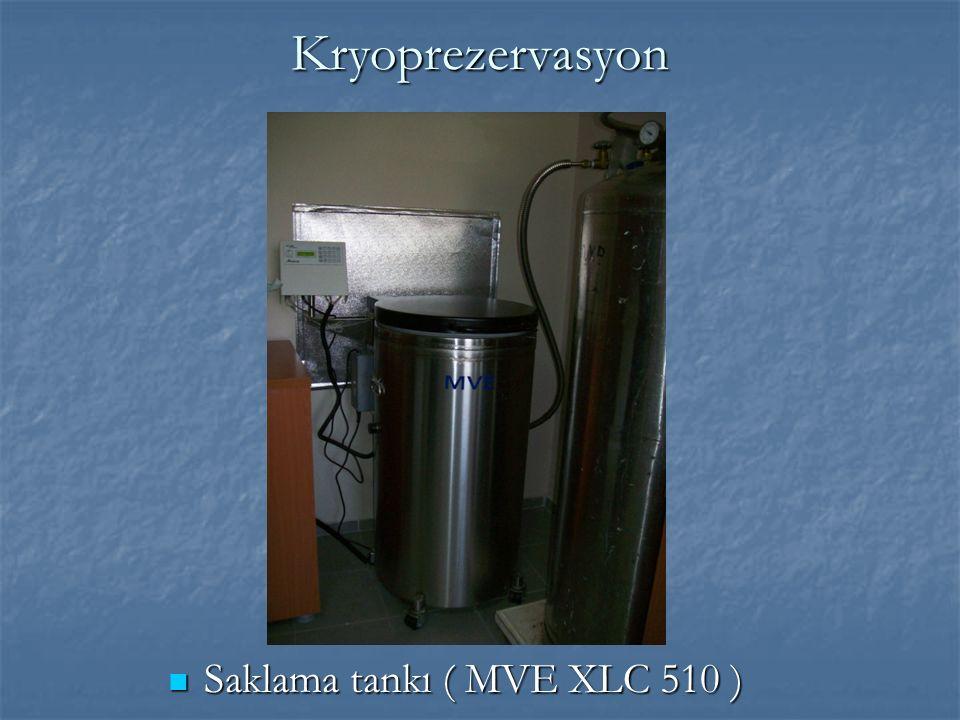 Kryoprezervasyon Saklama tankı ( MVE XLC 510 ) Saklama tankı ( MVE XLC 510 )